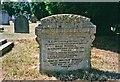 TQ2672 : Gravestone in Garratt Green Cemetery, Earlsfield by Christine Matthews