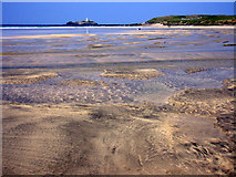 SW5742 : Sands at Gwithian by Sheila Russell