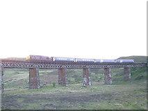 NN4258 : Viaduct near Rannoch Station by David Forrest