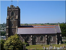SX5447 : St Peter's church, Noss Mayo by Derek Harper