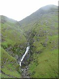 NH0217 : Allt Grannda waterfall by Alasdair MacDonald