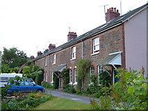 SX8155 : Orchard Terrace , Tuckenhay by Derek Harper