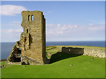 TA0489 : Scarborough Castle Keep by Scott Robinson