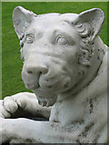 SU8294 : Lion Statue, West Wycombe House by Jurek and Trish  Sienkiewicz