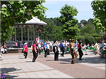 SX8751 : Line dancing in Dartmouth by Gary Davies