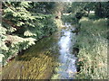SJ3331 : River Perry at Halston Gardens by Alan Stewart