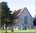 TQ7162 : St Mary's church, Burham Court by Stephen Craven