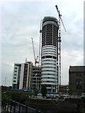 SE2932 : Bridgewater Place nears completion. by Steve Partridge