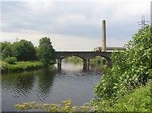 SE2320 : Former railway Bridge at Scout Hill, Dewsbury by Humphrey Bolton