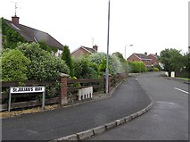 H4573 : St Julian's Way, Omagh by Kenneth  Allen