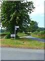 SK1920 : Road junction to the east of Dunstall by Oliver Dixon