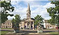 NJ3458 : The Square, Fochabers by Anne Burgess