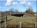 SO0190 : Bridge over Afon Cerist, near Caersws by John Lucas