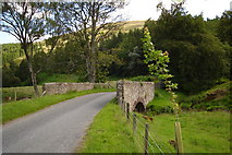 NO3462 : Bridge south of Easter Ladnathie by Sylvia Barrow