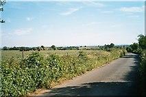 SP3114 : Lane near Buttermilk Farm by SA Mathieson