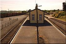 S8513 : Wellingtonbridge railway station (1) by Albert Bridge