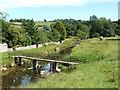 NY6216 : Footbridge across the Lyvennet by mauldy