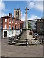 TF9129 : War Memorial, Fakenham by Philip Halling
