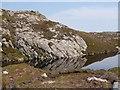 NG1693 : Reflections in Loch nan Uidhean by John Allan