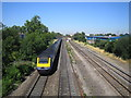 TQ0079 : Langley: Main line railway by Nigel Cox