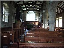 SD5871 : Interior of St John the Baptist, Arkholme by Alexander P Kapp