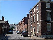 SJ3589 : St. Bride Street , Liverpool by Derek Harper