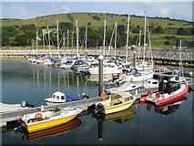 D3115 : Glenarm Harbour by Nygel Gardner