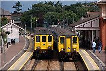 J4791 : Whitehead railway station by Albert Bridge