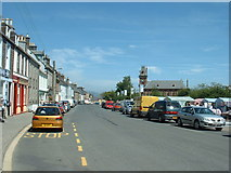 NX4355 : Wigtown main street by David Medcalf