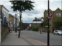 TQ2876 : Battersea Park Road SW8 by Danny P Robinson
