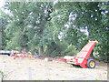 SJ7160 : Farm machinery by Stephen Craven