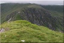 SH6963 : Craig yr Ysfa from the Summit of Pen yr Helgi Du by Terry Hughes