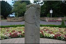 J5081 : The Bangor sundial by Albert Bridge