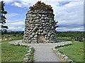 NH7444 : Culloden Battlefield Monument by Donald H Bain