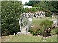 SH6010 : Footbridge by Cefnfeusydd Farm by John Lucas
