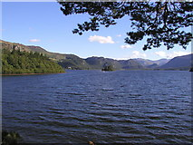 NY2622 : Derwent Water from Friar's Crag by Andy Beecroft