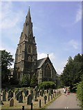 NY3704 : Ambleside Church by Andy Beecroft