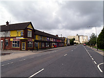 TA1914 : Queens Road - A1173 by David Wright