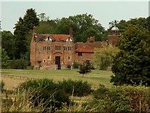 TL9558 : Gedding Hall, Gedding, Suffolk by Robert Edwards