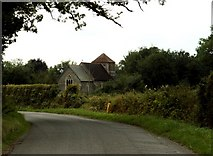 TL9558 : St. Mary's church, Gedding, Suffolk by Robert Edwards