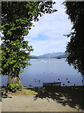 SD4096 : Lake Windermere from Bowness by Brian Houghton