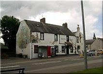 NS6113 : Castle Hotel, New Cumnock by L J Cunningham