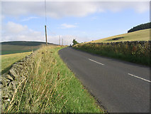 NT4437 : The B710 Road to Bowland by Walter Baxter