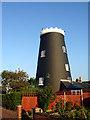 TM3389 : Flixton Road Mill, Bungay by Linda Bailey