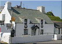 SH1726 : Cafe in Aberdaron by John Harding