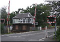 NZ5315 : Signal Box : Nunthorpe Station by Hugh Mortimer