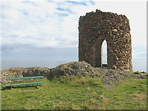 NT4999 : Lady's Tower, Sauchar Point, Elie by Lisa Jarvis