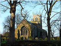 SK7431 : St Mary's Church, Harby by Ruth Raven