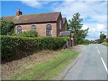 SJ6628 : Wistanswick United Reformed Church by Geoff Pick
