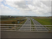 SH4473 : The A55 for Holyhead by Margaret Clough